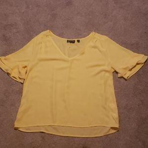 New York & Co. Sheer blouse